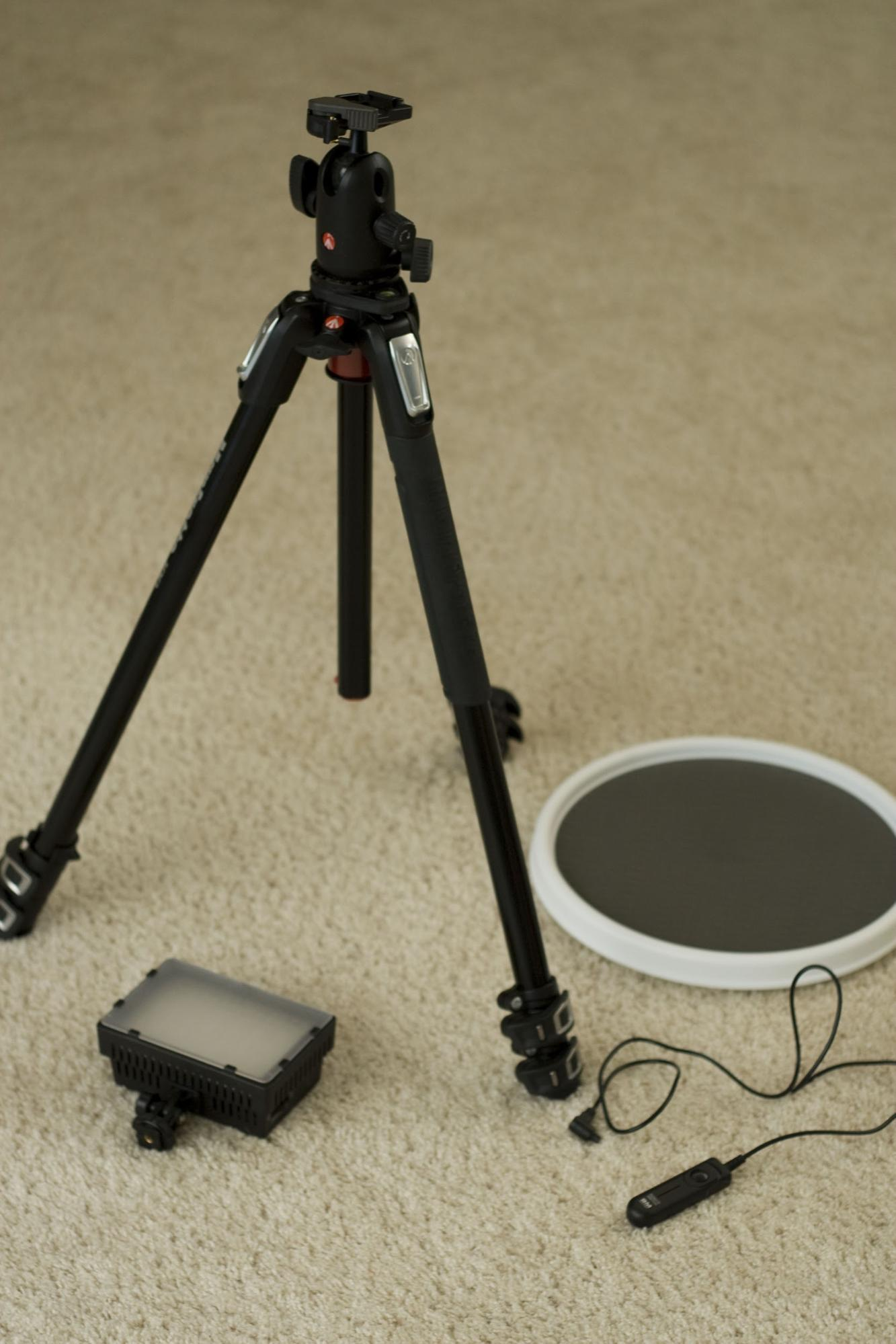 Stabilize your shots with a tripod