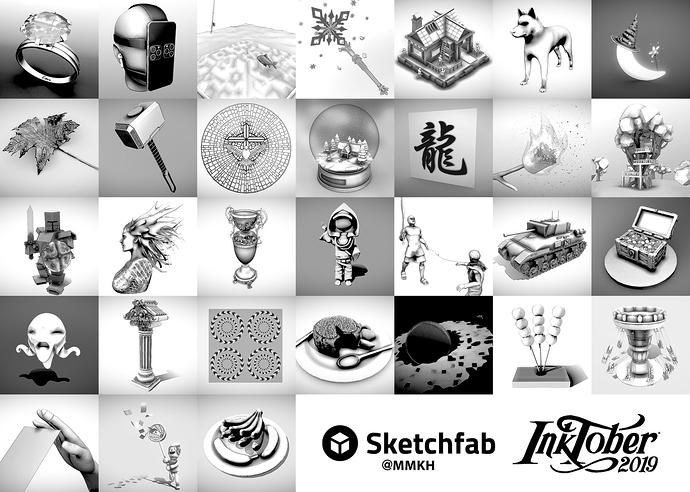 3DInktober2019_Final_Presentation_Collage_quartersize