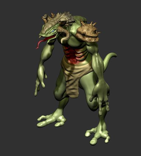 Lizard 02 WIP