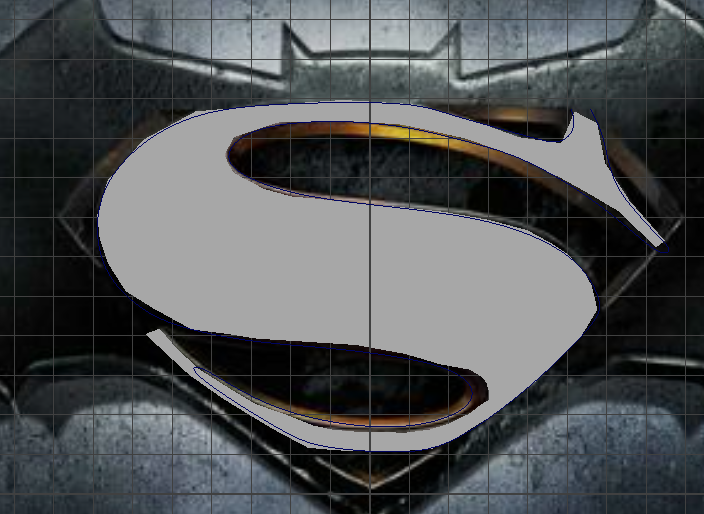 Batman Vs Superman Logo Tutorial
