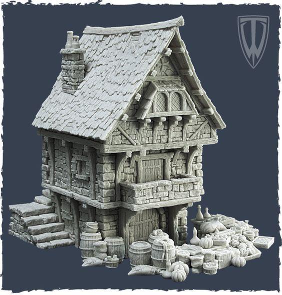 Wipmedieval House Work In Progress Wip Sketchfab Forum