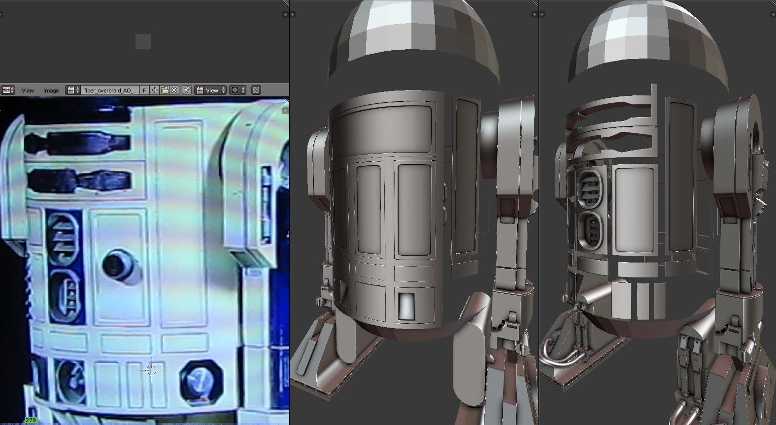 3D princess Leia, the first hologram!