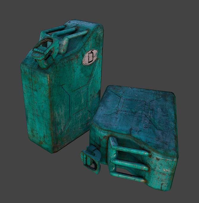 Fallout 4 style assets: Making Of - Work in Progress [WIP