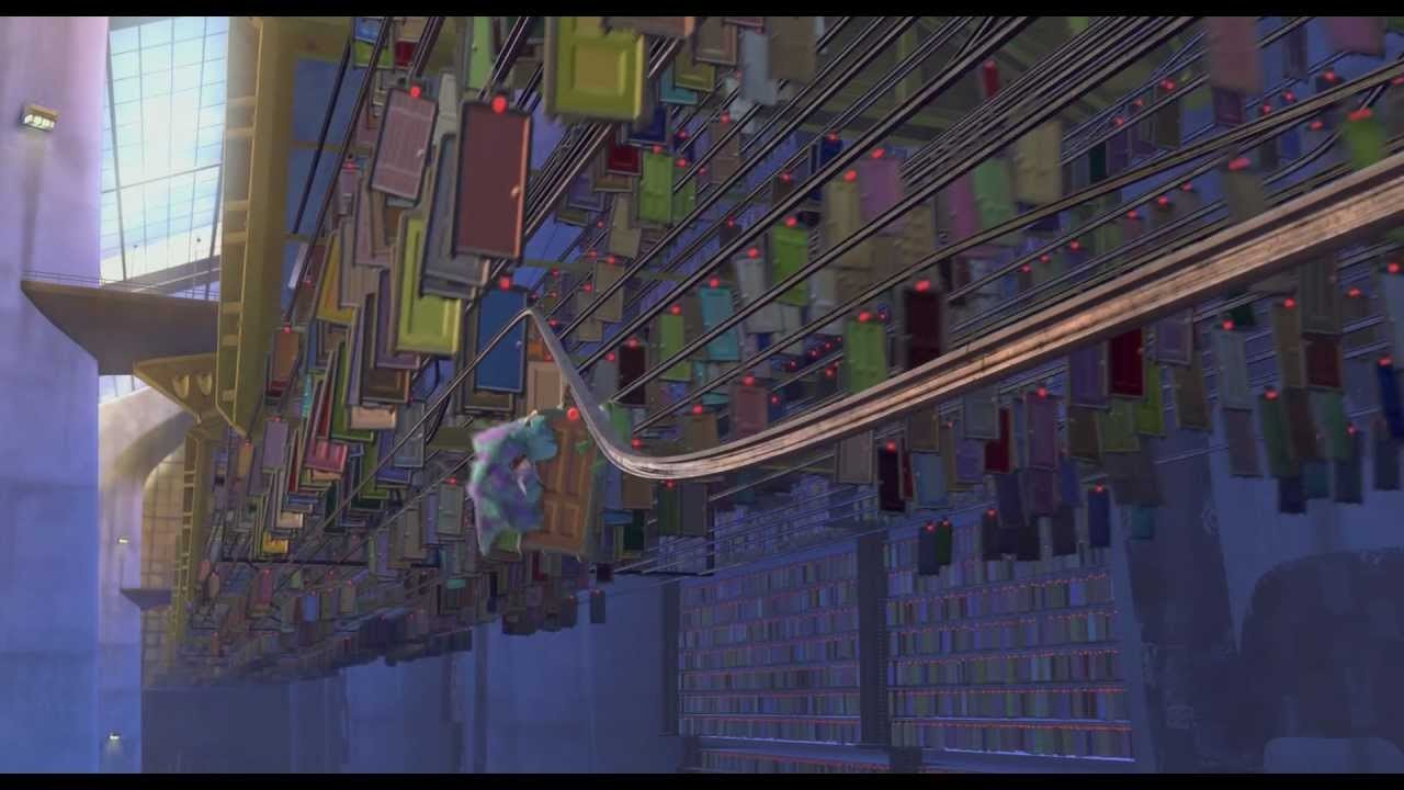 Monsters Inc  - Door chase scene - Lights, Camera, Immersion