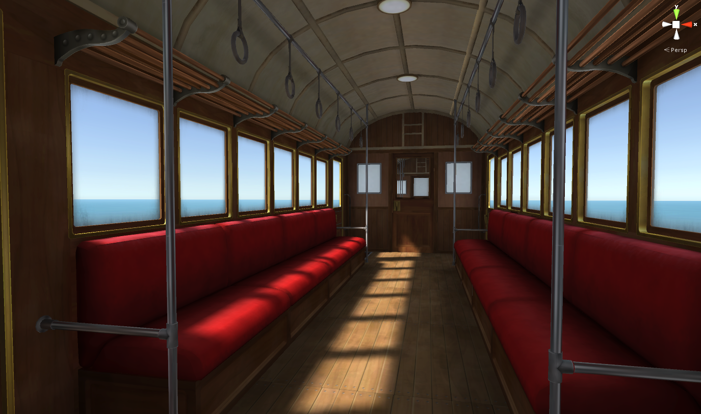 Spirited Away Train Scene Lights Camera Immersion Community Contest Sketchfab Forum