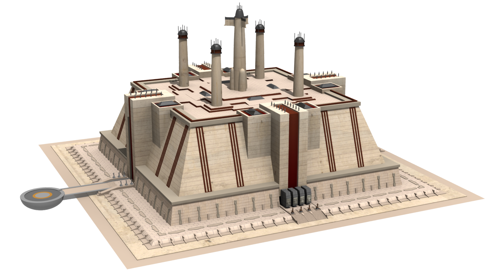 Jedi Temple Minecraft Project