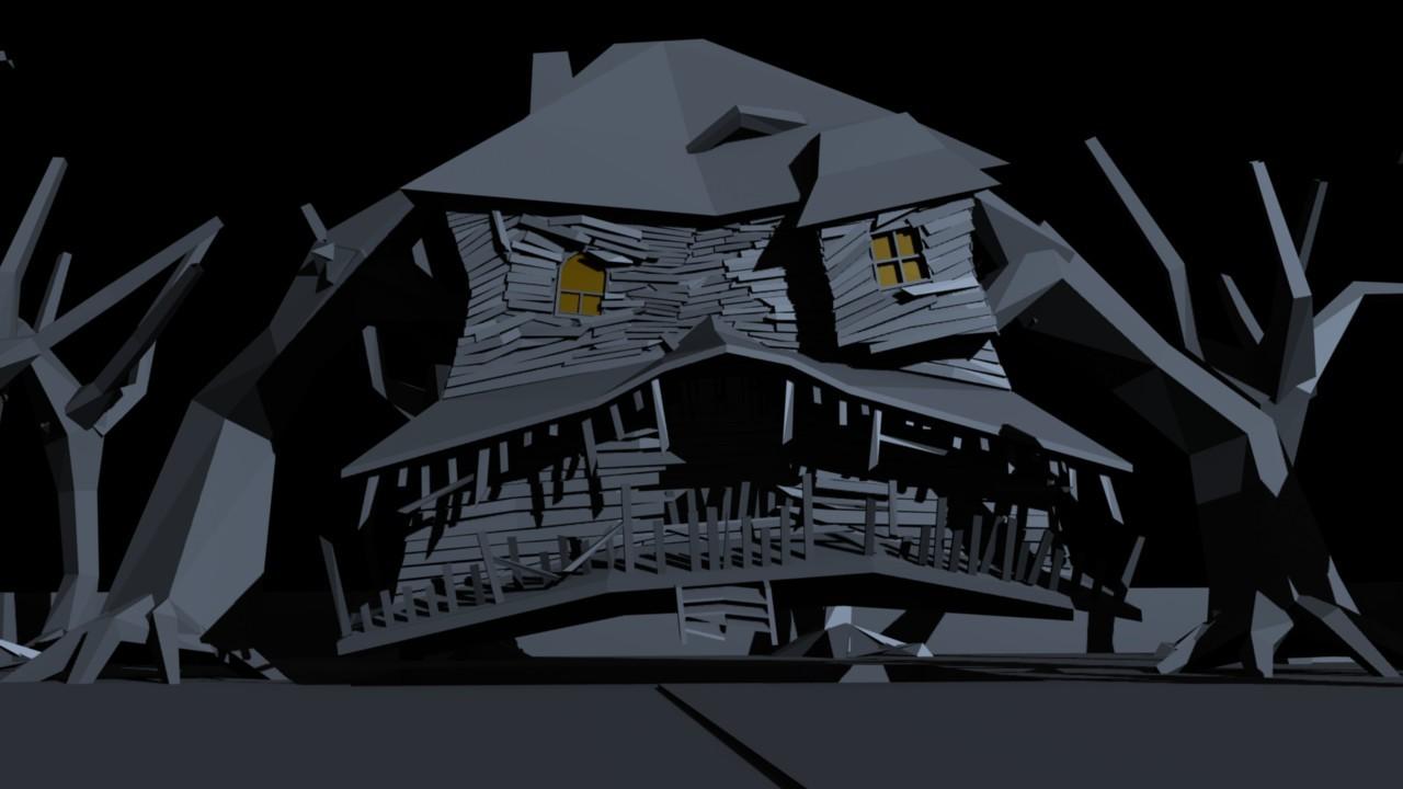 Halloween 2015 scene WIP:Monster house - Halloween Contest ...