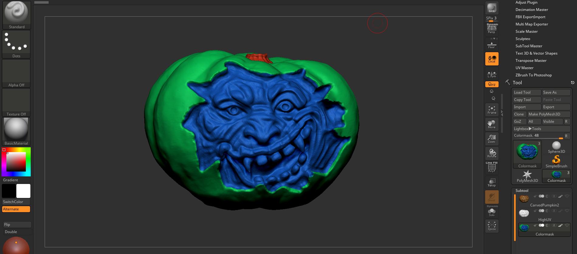 ENDED] Sketchfab Sculpting Challenge: Digital Pumpkin
