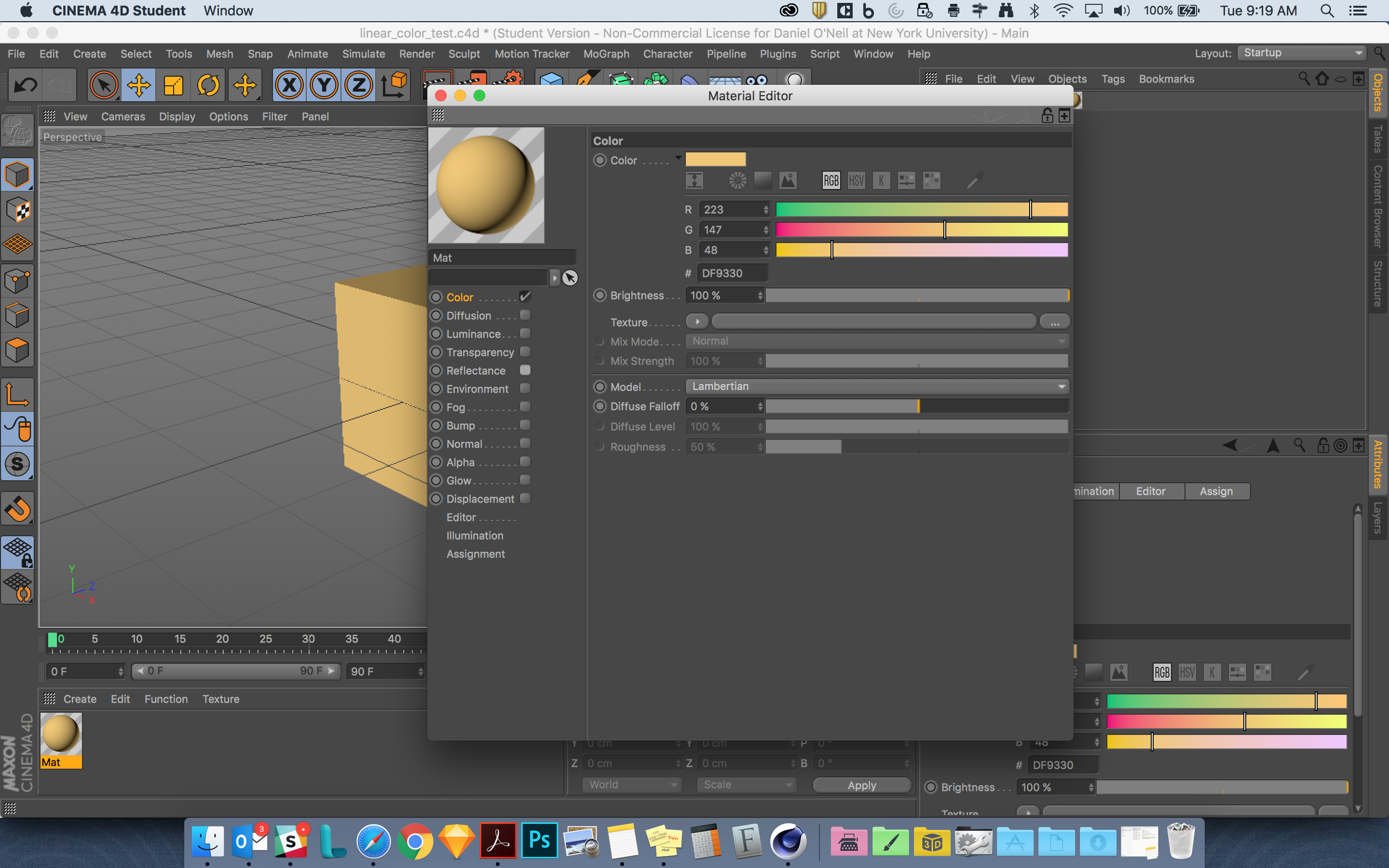 Colors not importing correctly from Cinema 4D - Bugs - Sketchfab Forum