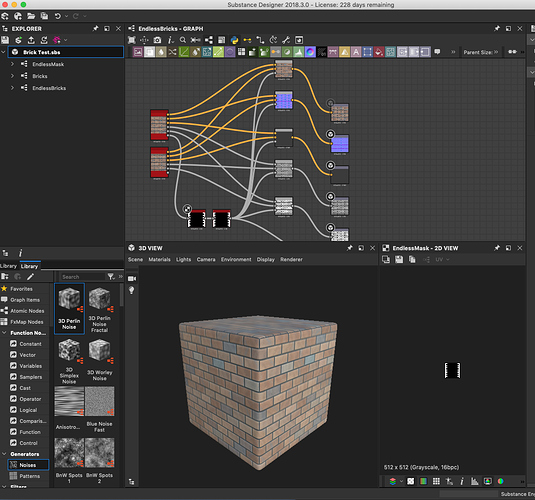 How to use SketchUp Model with Substance Designer Texture in