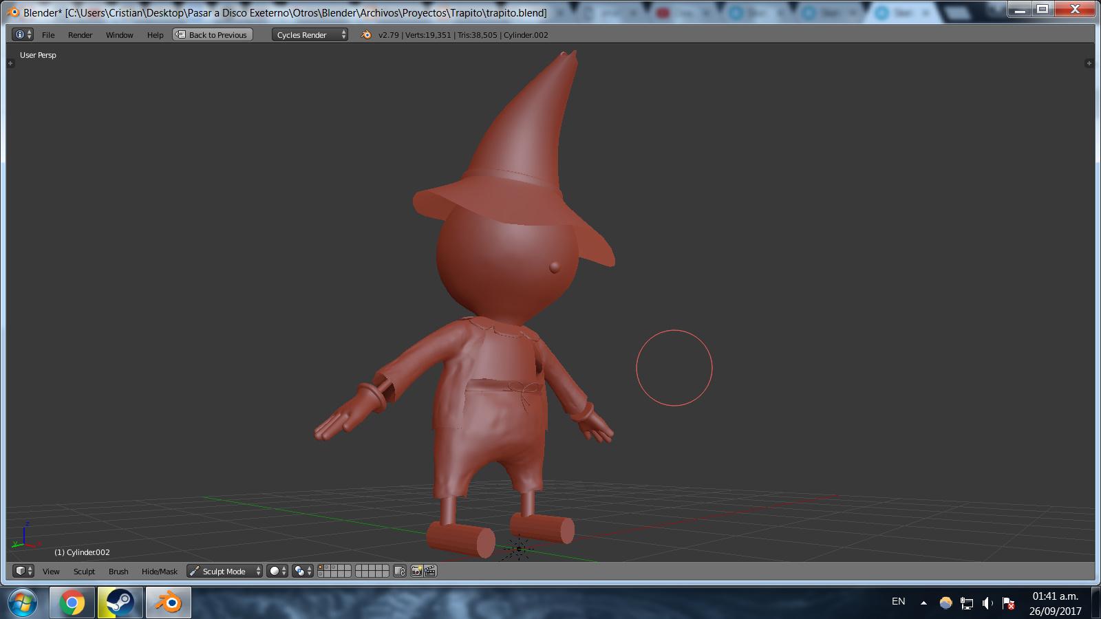 ENDED] Sketchfab Sculpting Challenge: Cartoon Characters