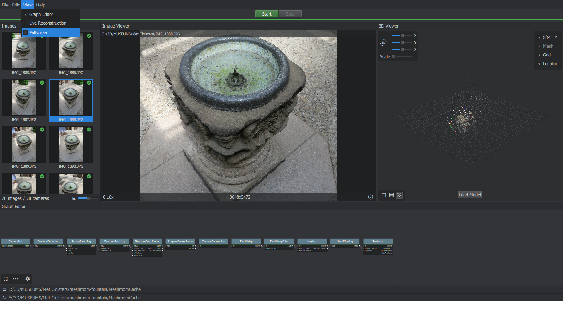 Open Source Photogrammetry with Meshroom - 3D Scanning and